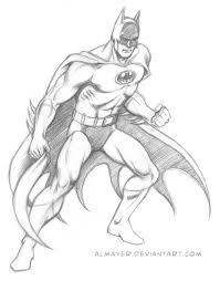 batman garcia lopez style sketch almayer deviantart