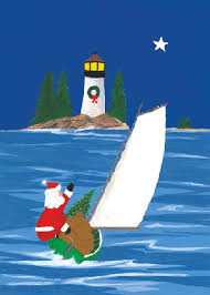 nautical christmas cards cards nautical cards lighthouse christmas cards