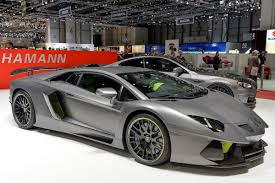lamborghini aventador price hamann u0027s new lamborghini aventador limited comes with a pinch of