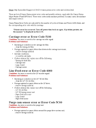 canon mp630 error codes printer computing computer hardware