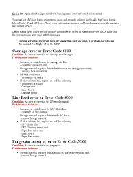 canon mp630 error codes printer computing computer hardware