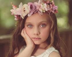 flower headband pink flower headband etsy