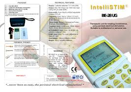 intellistim be 28ug beacmed pdf catalogue technical