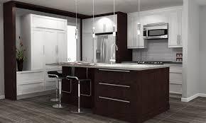 bas de cuisine vase en céramique marron simple meuble bas de cuisine bois noir