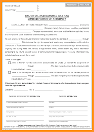 Power Of Attorney Sample Letter by 6 Limited Power Of Attorney Form Texas Scholarship Letter