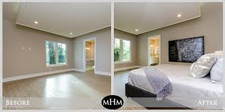 home design before and after before and after staging mhm professional staging