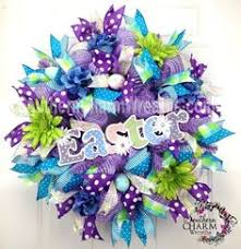 how to make easter wreaths this beautiful easter wreath was made by terrie dollar who sells