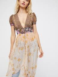 free people daisy fields maxi top lyst