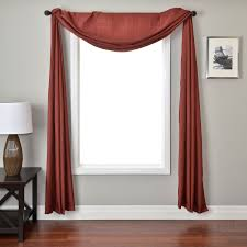 scarf valance hooks the way to hang curtain with scarf valance