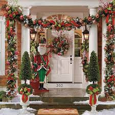 decorate front porch christmas porch decorations christmas celebration front porch