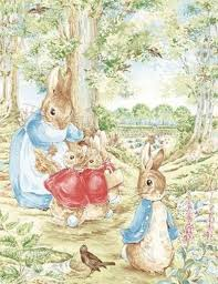 rabbit by beatrix potter beatrix potter rabbit fabric xlg scenic quilt panel almost