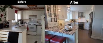Small Kitchen Before And After Photos by Small Kitchen Renovations Before And After Best 20 Small Kitchen