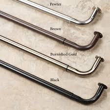Drapery Rod Parts Curtain Rods Drapery Rods Hardware Tie Backs Sets Curtains