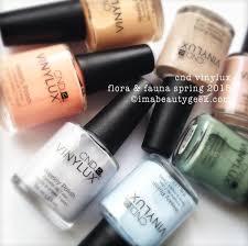 cnd vinylux flora u0026 fauna swatches for spring 2015 beautygeeks
