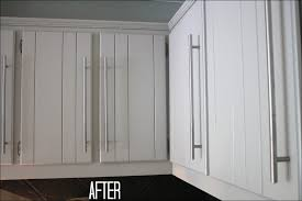 How To Refinish My Kitchen Cabinets by Kitchen Refinishing Oak Cabinets Before And After Staining Wood