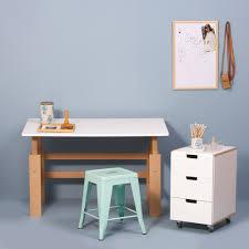 Schreibtisch In Buche Manis H Schreibtisch Holzschreibtisch Weiß Buche
