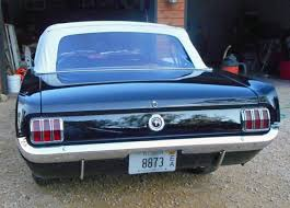 Black Mustang Convertable 1965 Ford Mustang Convertible â U20ac U201c Black Exterior Red Interior