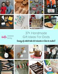 37 handmade gift ideas for dads many of which take 60 minutes or