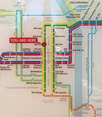 Max Map Portland by New Official Map Trimet Max Light Rail Portland Transit Maps