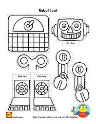 u0027s talk robots free robot printable alexbrands