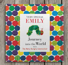 the hungry caterpillar personalised book 24 99 funky pigeon