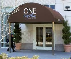 Entrance Awning Commercial Awnings Westchester County Ny Gregory Sahagian U0026 Son