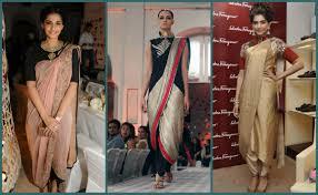 Drape A Sari Six Yards Of New Dhoti Pant Sari