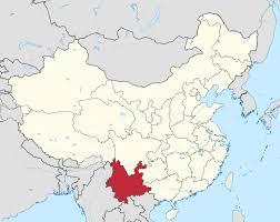 Tibetan Plateau Map Yunnan Wikipedia