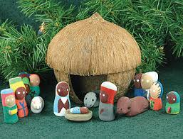 nativity sets from around the world and happy holidays