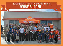 whataburger open on thanksgiving ribbon cutting for owasso u0027s new whataburger held thursday