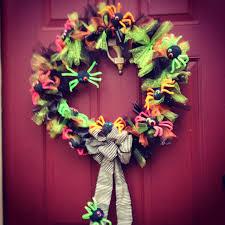 Halloween Tulle Wreath by Spider Tutu Wreath A Halloween Kid Friendly Craft