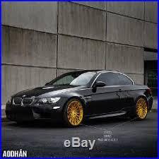 bmw e60 gold 19x8 5 19x9 5 15 aodhan ls001 5x120 gold wheel fit bmw e60 f10