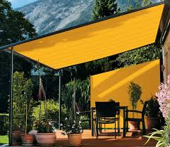 Large Awning Awnings And Canopies For Terraces And Verandas 50 Photos Types