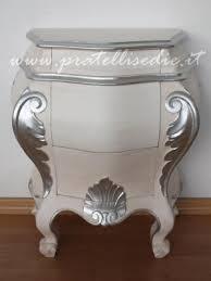 comodini foglia argento mobili arredamenti it mobili