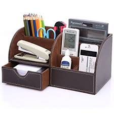 Office Desk Storage Kingomtm 7 Storage Compartments Multifunctional Pu