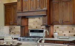 kitchens with glass tile backsplash kitchen backsplash glass tile brown