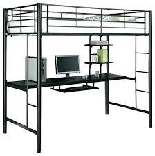 black metal twin loft bed with desk metal bunk bed desk twin metal loft bed with desk mint bunk bed desk