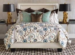 Blue And Brown Bed Sets Blue Brown Bedding Set Barclay Butera Hudson