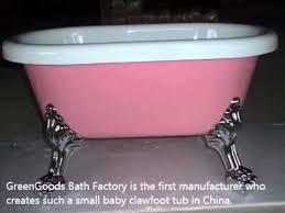 baby clawfoot tub baby bathtub youtube