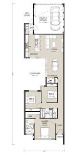 narrow lot homes narrow two house plans search house