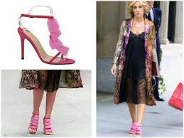 vivid pink christian louboutin sandals celebnco the latest