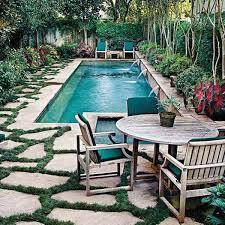 Backyard Swimming Pool Designs Small Backyard Pool Crafts Home