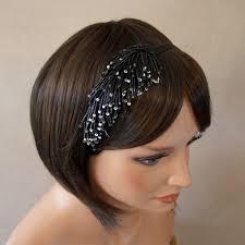 serre tãªte mariage serre tête chic noir serre têtes bijoux et accessoires cheveux