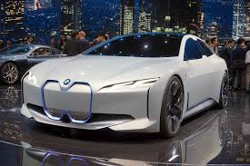 bmw concept car bmw i vision dynamics concept debuts as a future tesla competitor
