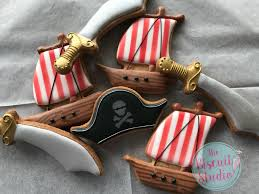 Flag Cookie Cutter Pirate Ship Cookie Cutter The Biscuit Studio