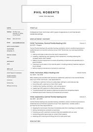 hvac technician resume exles 12 free hvac technician resume sles resumeviking