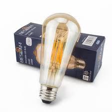 amazon com vintage edison led bulb dimmable 5 5w st19 antique led