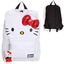 kitty bow backpack