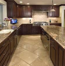 kitchen floor tile ideas pictures kitchens and backsplashes