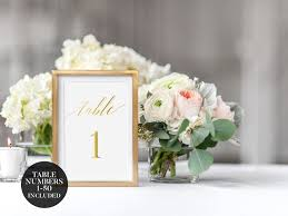 gold wedding table numbers wedding table numbers gold wedding table numbers 1 to 50 wedding